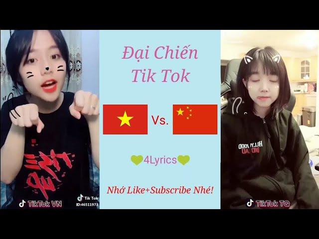 [Tik Tok Đại Chiến] Việt Nam Vs. Trung Quốc - Trào lưu mới Học Mèo Kêu cực cute! ❤