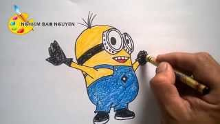 Vẽ Minions/How to Draw Minions