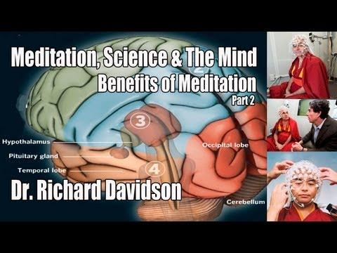 Meditation, Science & The Mind - Pt. 2 - Dr. Richard Davidson - Benefits of Meditation on the Brain.
