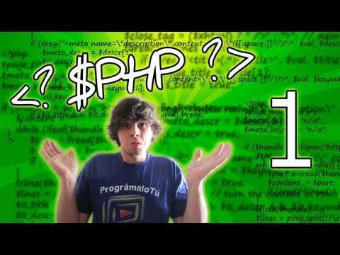 Tutorial PHP Basico - 1 - Introducción ¿Que Es PHP?