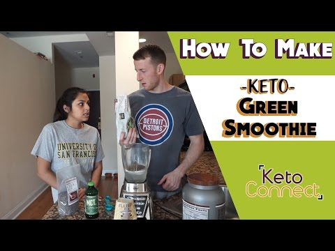 How to Make a Keto Green Smoothie - 5 Ingredients!