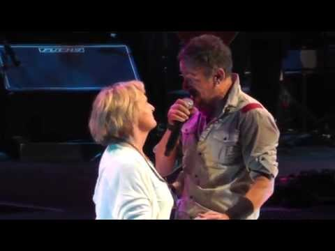Bruce Springsteen & E Street Band 5/13/14: 10 - Save the Last Dance for Me (dance w/Mom) -Albany,NY