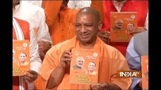 Satisfied with our 100 days' work in Uttar Pradesh, says CM Yogi Adityanath