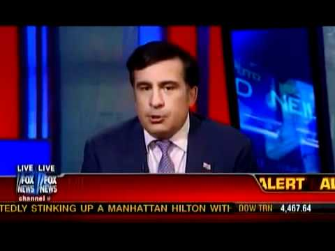 President of Georgia Mikheil Saakashvili Interviewed on 'Your World' - © FOX News MMX