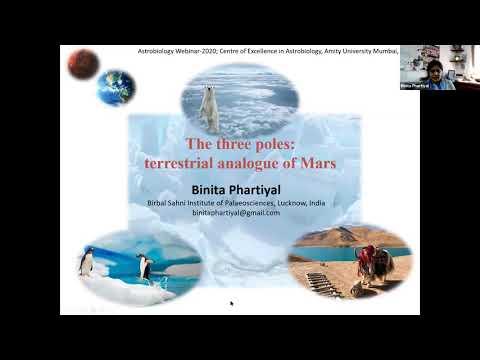 The Three Poles: Terrestrial Analogues of Mars by Dr Binita Phartiyal