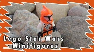 Lego Star Wars minifigures Обзор человечка Звездные войн