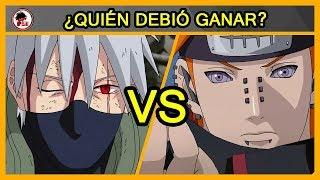 Naruto: Kakashi Vs Pain - QUIÉN DEBIÓ GANAR