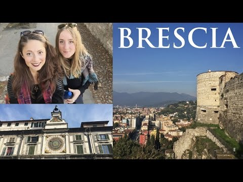 Weekend in Brescia, Italy with Eka, old vlog   TRAVEL