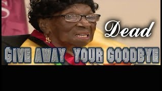 Oldest living American Alelia Murphy  dead at 114 - info  below - give away your goodbye