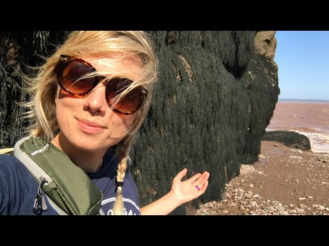 WORLD'S LOWEST TIDE! Hopewell Rocks, Bay Of Fundy, New Brunswick   Canada Travel Vlog