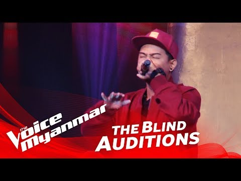 "Woofer: ""ဒါမင္းဘ၀"" - Blind Audition - The Voice Myanmar 2018"