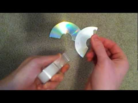 how to fix cracked video game discs