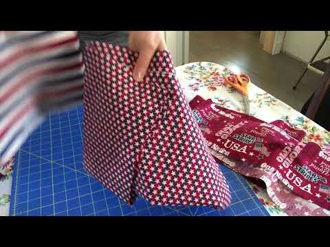 Easy Rag Quilt Tutorial Step 1
