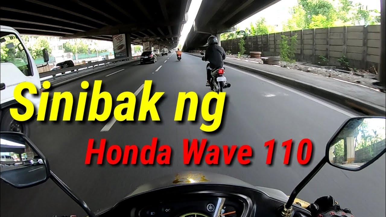SINIBAK NG HONDA WAVE 110
