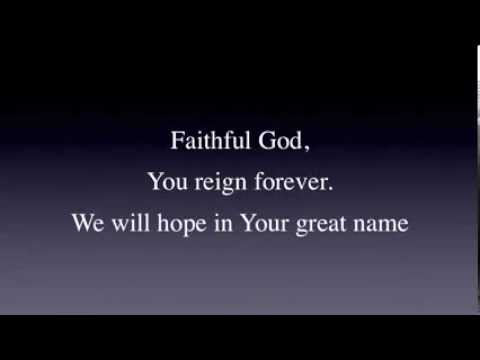Faithful God by Carl Cartee lyrics