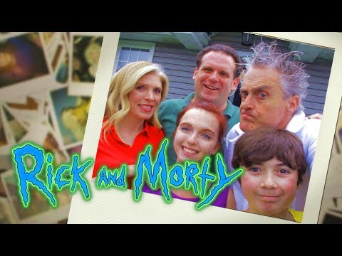 Rick And Morty: Live Action Intro