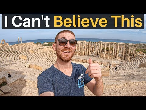 I CAN'T BELIEVE THIS (Leptis Magna, Libya)