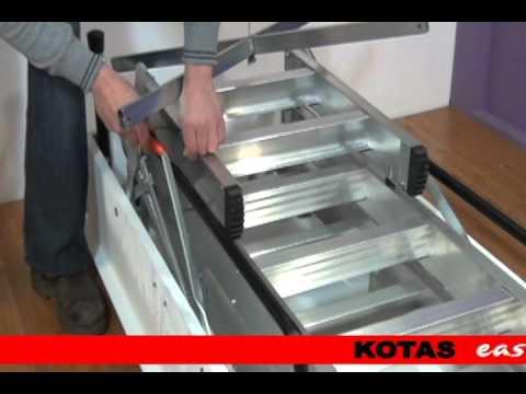 Gu a de instalaci n de escalera kotas c 3 con kotas easy for Escaleras kotas