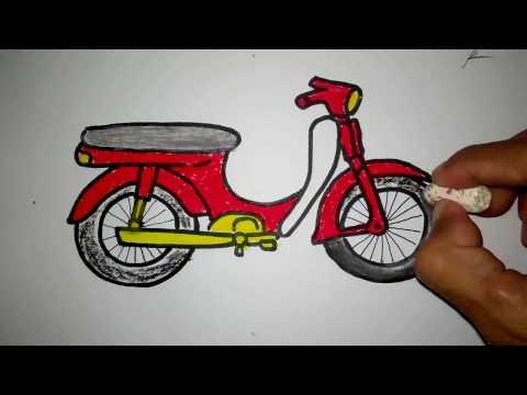 Koleksi Gambar Motor Modifikasi Hand Made