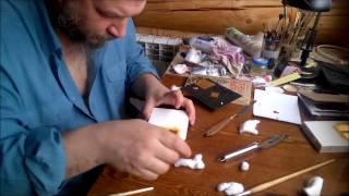 видео Технологии золочения на полимент