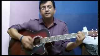 3 Chords ( G C D ) 3 Hindi Songs ( Lucky ALi , Silk Route ) Single strumming pattern