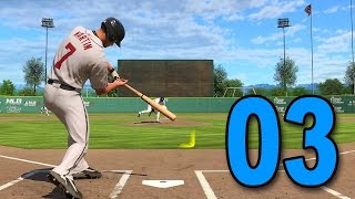 mlb 15 road to the show part 3 perfect in first aa game playstation 4 gameplay walkthrough