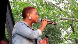 Chrisette Michele, Golden, Central Park Summerstage, NYC 8-2