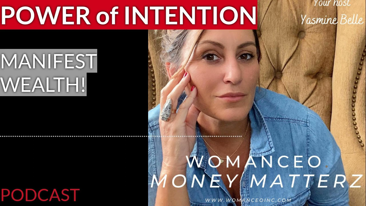 How to set an intention and build wealth - New moon energy