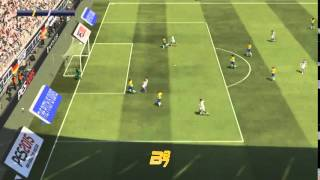 PES 2015 full gameplay HD Brazil - Germany demo