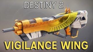 Destiny 2: Vigilance Wing 36-3 Gameplay (Exotic Pulse Rifle)