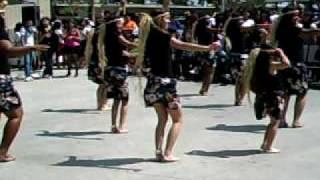 Tahitian Otea Performance