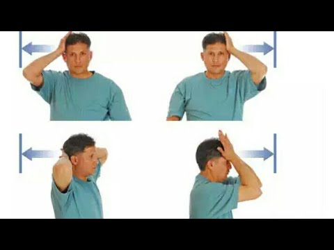 Neck pain most effective self exercises by physiotherapist