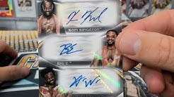2019 Topps WWE Undisputed Wrestling Half Case Break #1