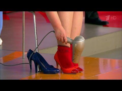 Как растянуть узкую обувь. Жить здорово! (03.12.2015)