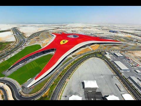 Dubai Ferrari World Abu Dhabi 2015 Hd Youtube