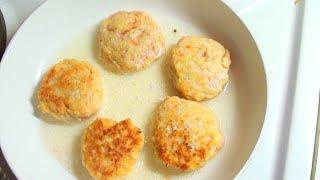Куриные котлеты с овощами. нежные для детей и взрослых.видео рецепт.