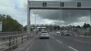 Crossing Saltash Bridge (Toll) Cornwall Devon border England UK Plymouth