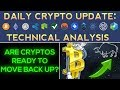 Are Cryptocurrencies Ready To Move Back Up? (1/17/18) Daily Update + Technical Analysis