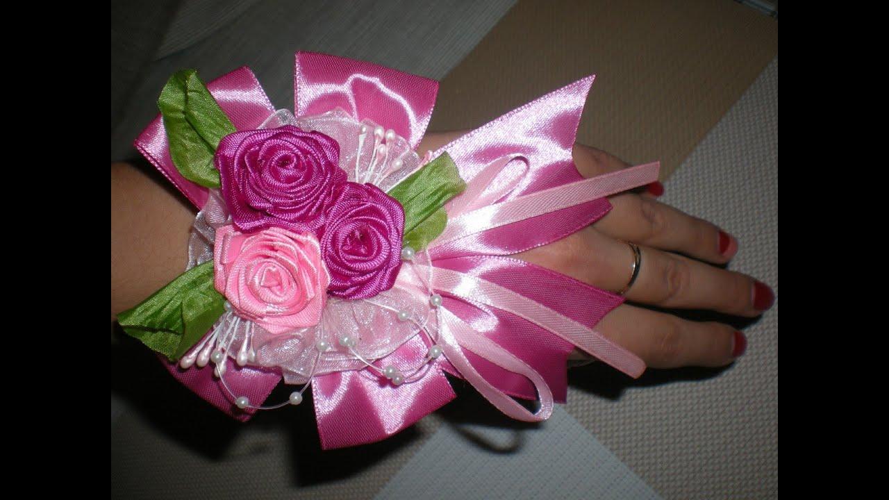 Бутоньерка жениха своими руками Крестик