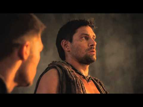 SPARTACUS: VENGEANCE -- BLOOPERS clip with Liam McIntyre & Manu Bennett