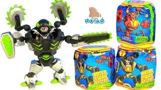 РОБОТЫ ТРАНСФОРМЕРЫ В ЛИЗУНЕ Ready2Robot  Slime Robot Battles Суперсемейка против Монстра