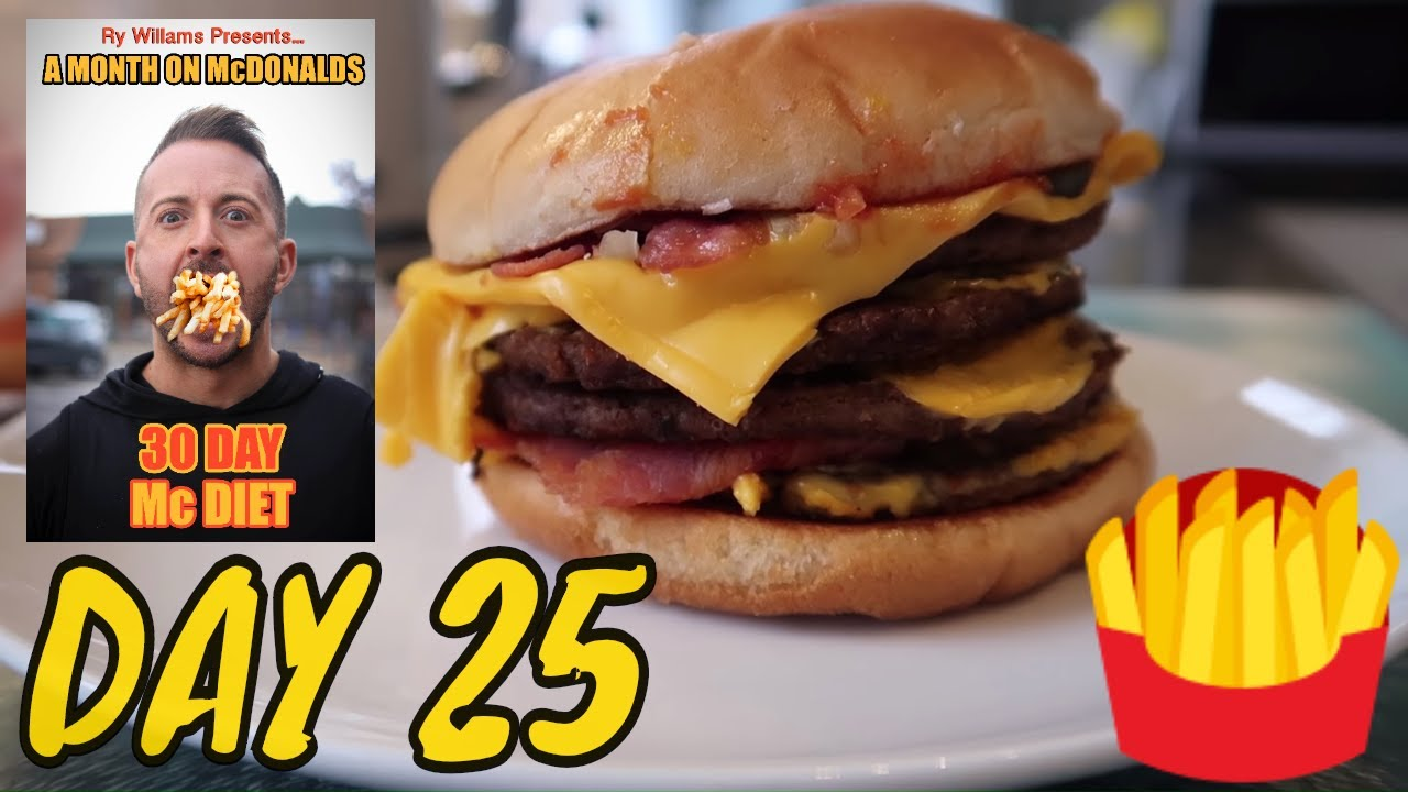 Only Eating Mcdonald S For 30 Days Losing Weight Day 25 Downsize Me Youtube