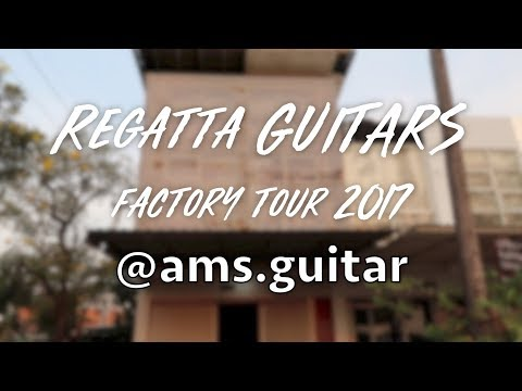 Regatta Guitars Factory Tour 2017 | @ams.guitar