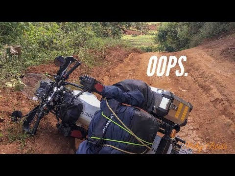 OOPS - Royal Enfield Himalayan (2018) - Off-roading in Thailand - [ROUND 24]