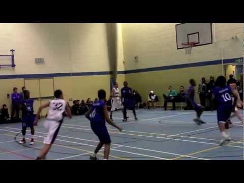 Harrow High Basketball:  HHS v Platanos College (13th Dec 2012)