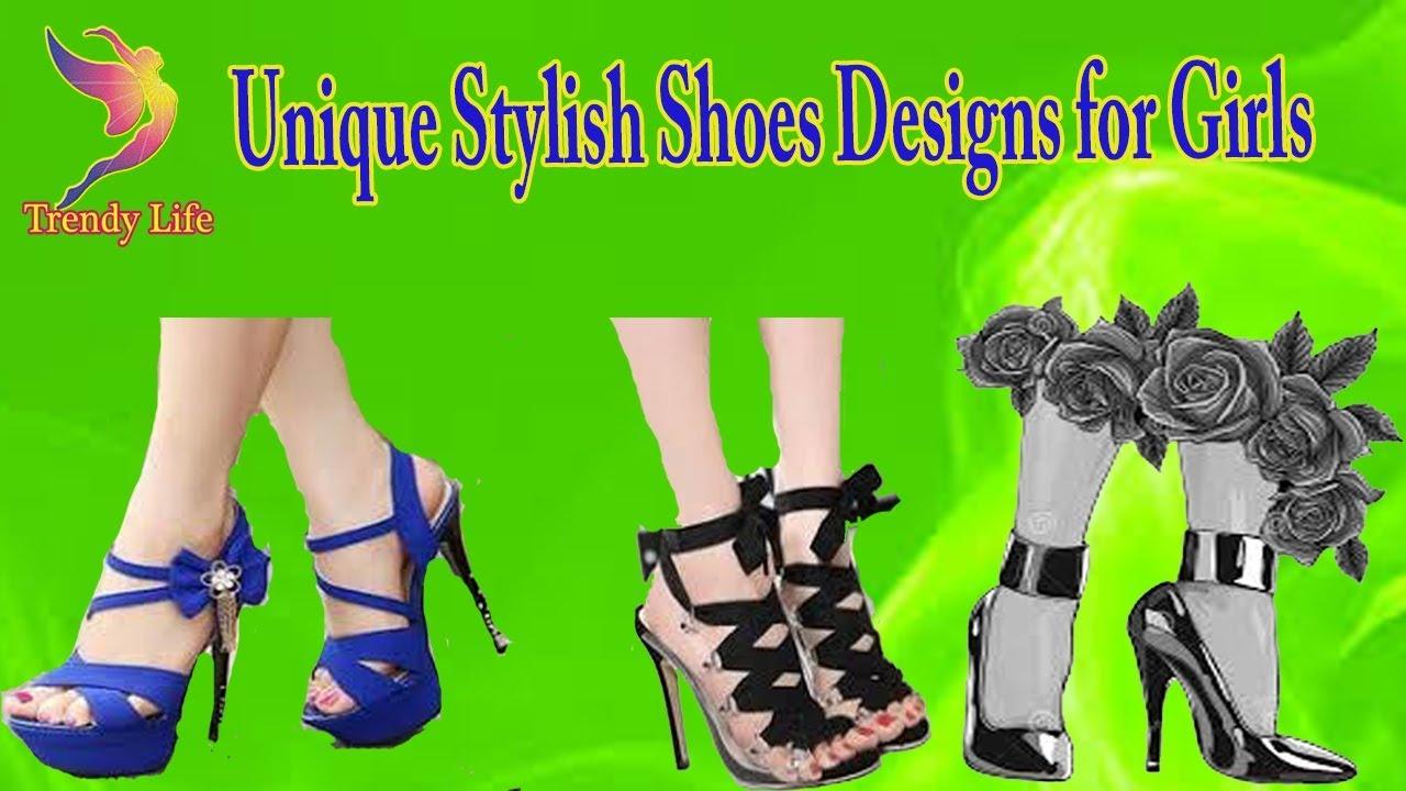 851ff3dda73 Unique Stylish Shoes Designs for Girls || Designer Heels & Sandals for Women