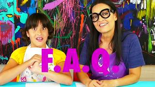 What is ART CAMP IN A BOX? And other FAQs