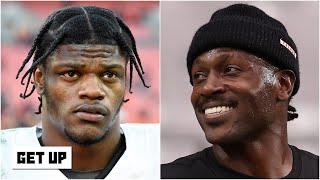Lamar Jackson 'still hopes' the Ravens sign Antonio Brown | Get Up