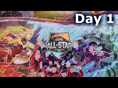 LoL All-Stars 2016 Day 1 | LoL eSports All-Star Event Barcelona #Allstar2016