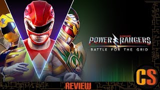 POWER RANGERS: BATTLE FOR THE GRID - REVIEW (Video Game Video Review)